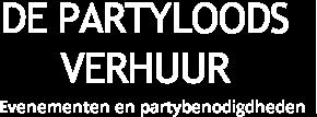 De Partyloods Verhuur logo